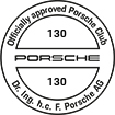 Officially approved Porsche Club 130
